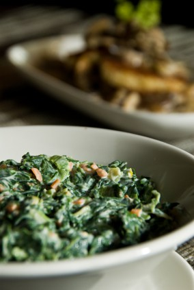 recipe for creamed spinach