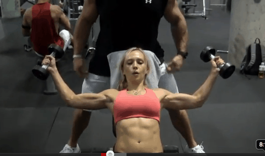 Upper Body Burnout Exercise Video