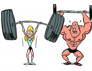 muscle building exercises for women