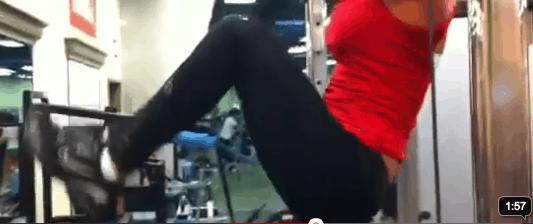 Best Lower Ab Exercise For Women: Hanging Hip Raise