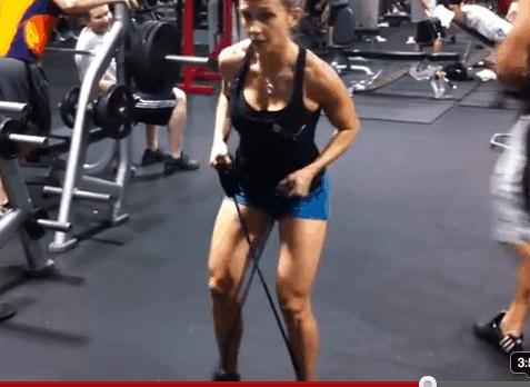 leg toning exercise