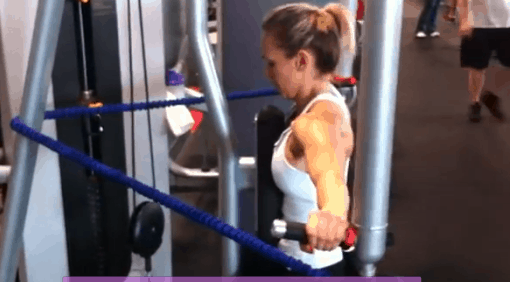 Fitness Tip Tuesday – Shoulder Exercises For Women 3rd Circuit