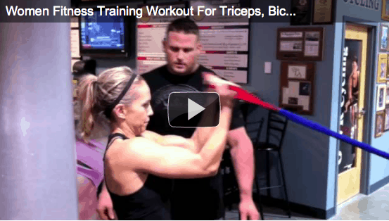 Workout Wednesday – Women Fitness Training Workout For Triceps, Biceps and Chest