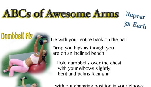 Workout Wednesday – Awesome Arms Workout