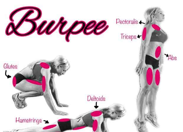 Fitness Tip Tuesday – Fat Burning Exercise – The Burpee