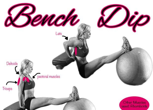Fitness Tip Tuesday – Triceps Bench Dip