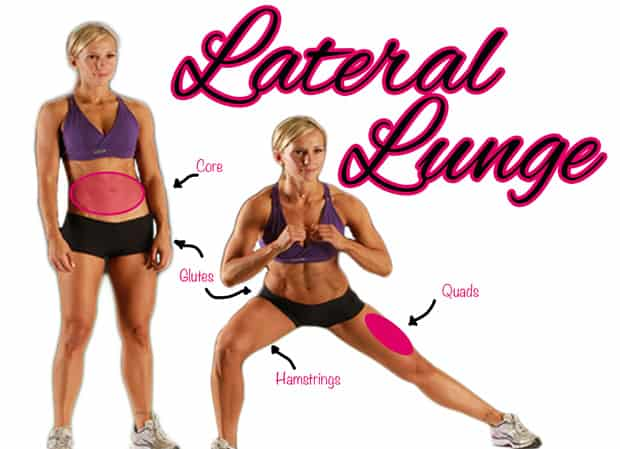 Fitness Tip Tuesday – Alternating Lateral Lunge