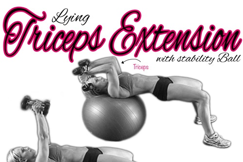 Fitness Tip Tuesday – Arm Toning Exercise -Triceps Extension