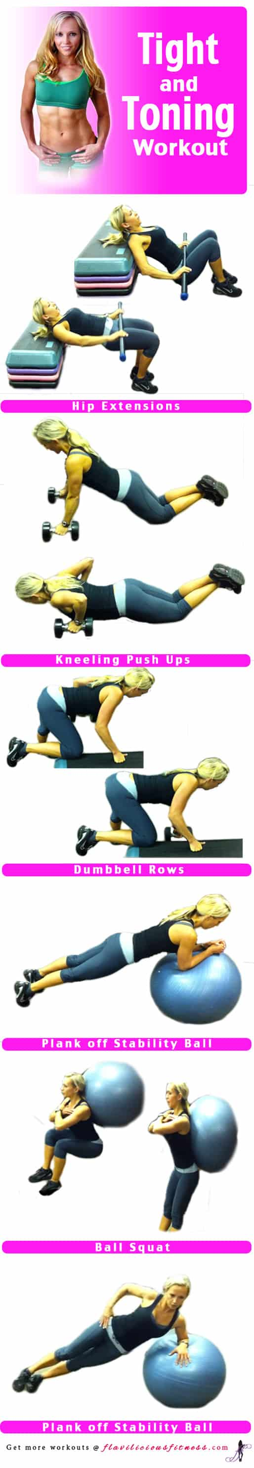 Tight and Toning Workout