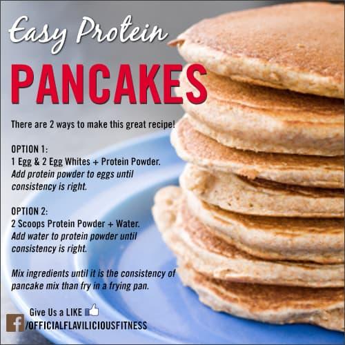 high protein pancake recipe