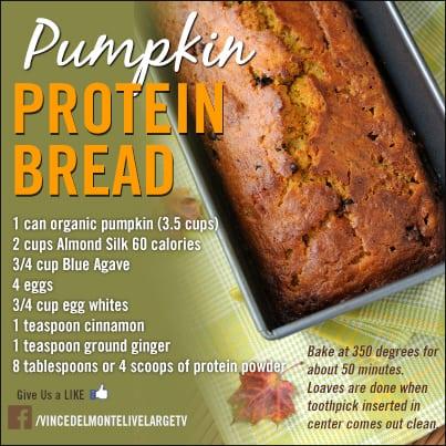 Tasty Thursday – Pumpkin Protein Bread