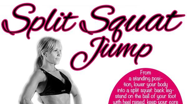 Fitness Tip Tuesday – Split Squat Jump