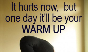 Motivation Monday – It may be hard now…