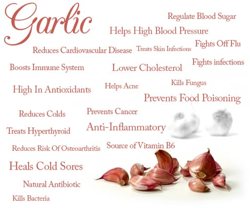 what are the benefits of garlic