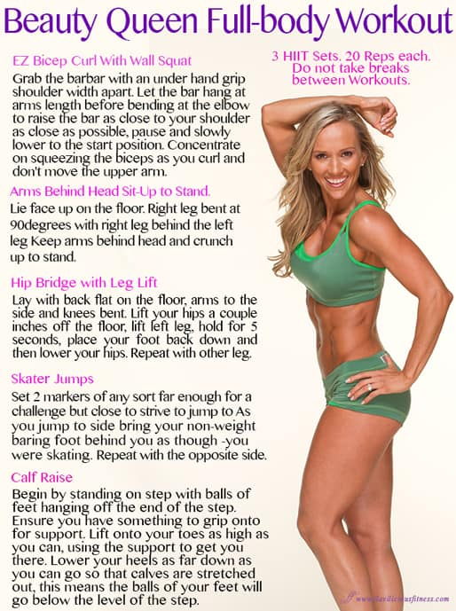 fitness workouts for women