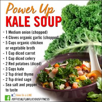 healthy kale soup recipe