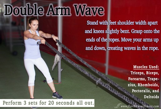 Double Arm Wave (Fitness Tip)
