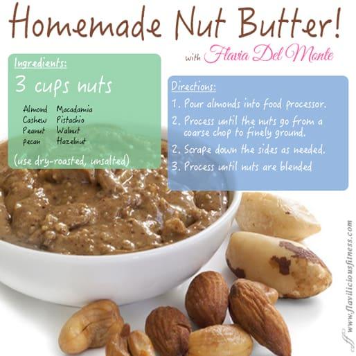 raw nut butter