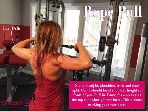 upper back exercises for women