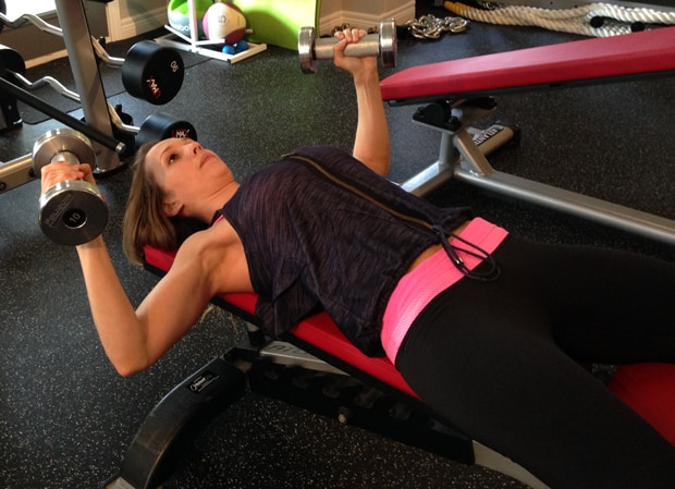 Flat Bench Dumbbell Fly (Fitness Tip Tuesday)