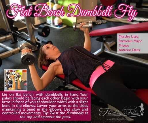 how to do a dumbbell fly
