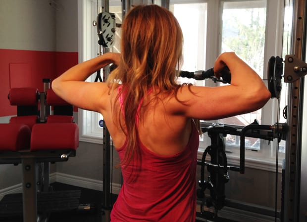 Fitness Tip Tuesday – Rear Delt Rope Pull