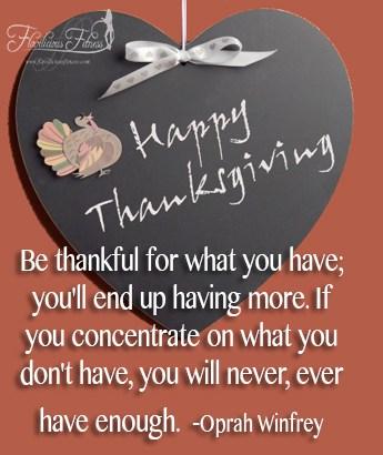 Happy Thanksgiving (Motivation Monday)