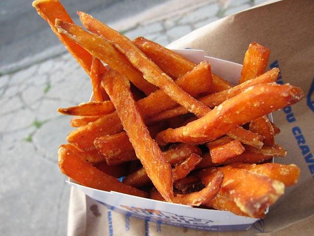 Perfectly Crisp Sweet Potato Fries Recipe