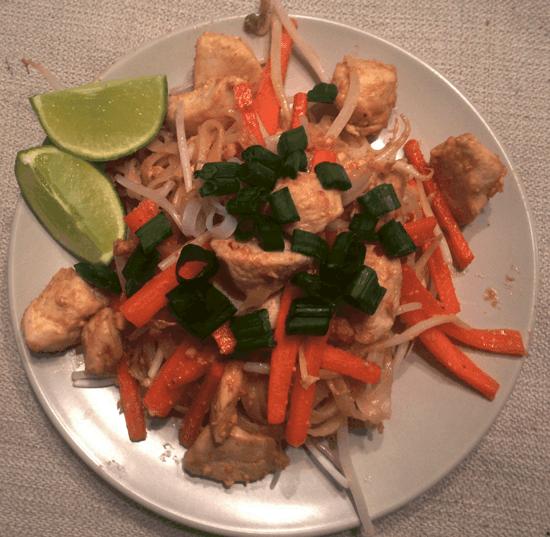 Classic Pad Thai Recipe But Healthy (Tasty Thursday)