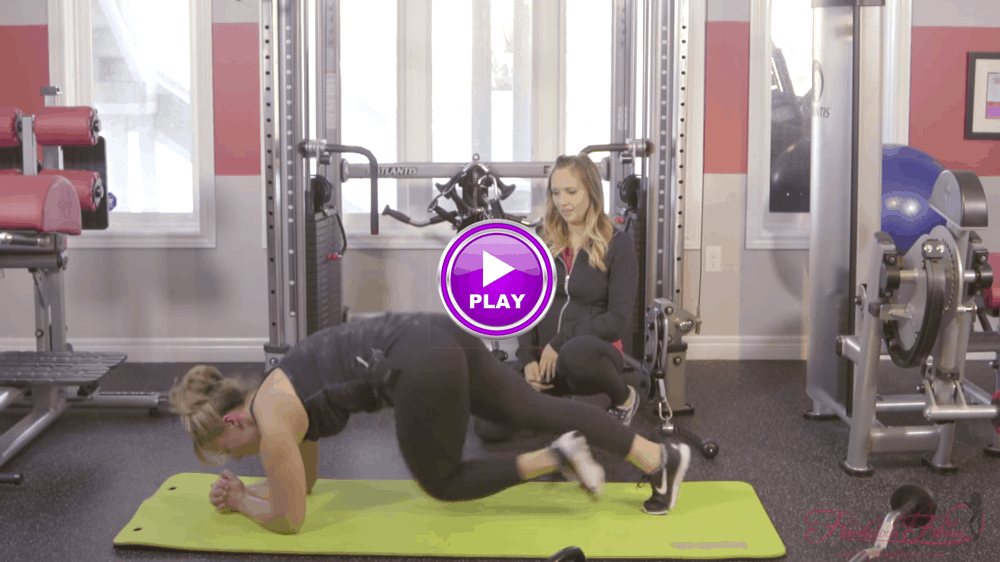 Total Body Fat Loss Workout Video #1- For A Hot BUTT And Nice Abs