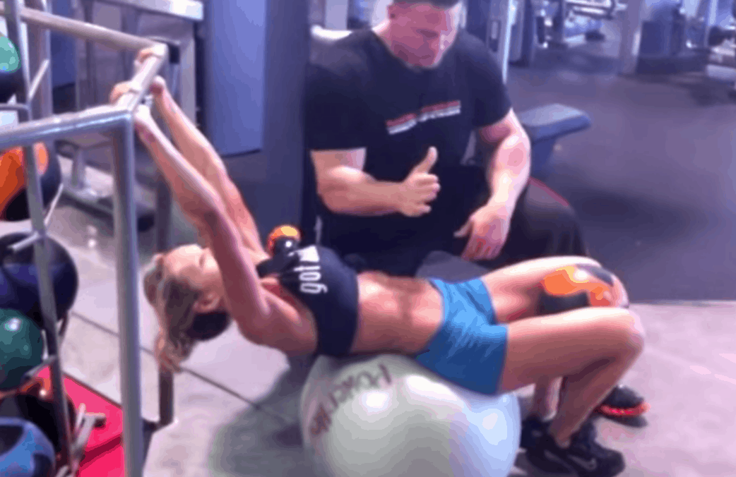 Abalicious On the Stability Ball Workout #2