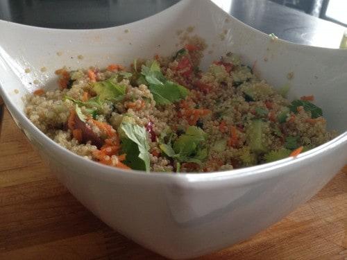 Vegetable Quinoa Salad Recipe