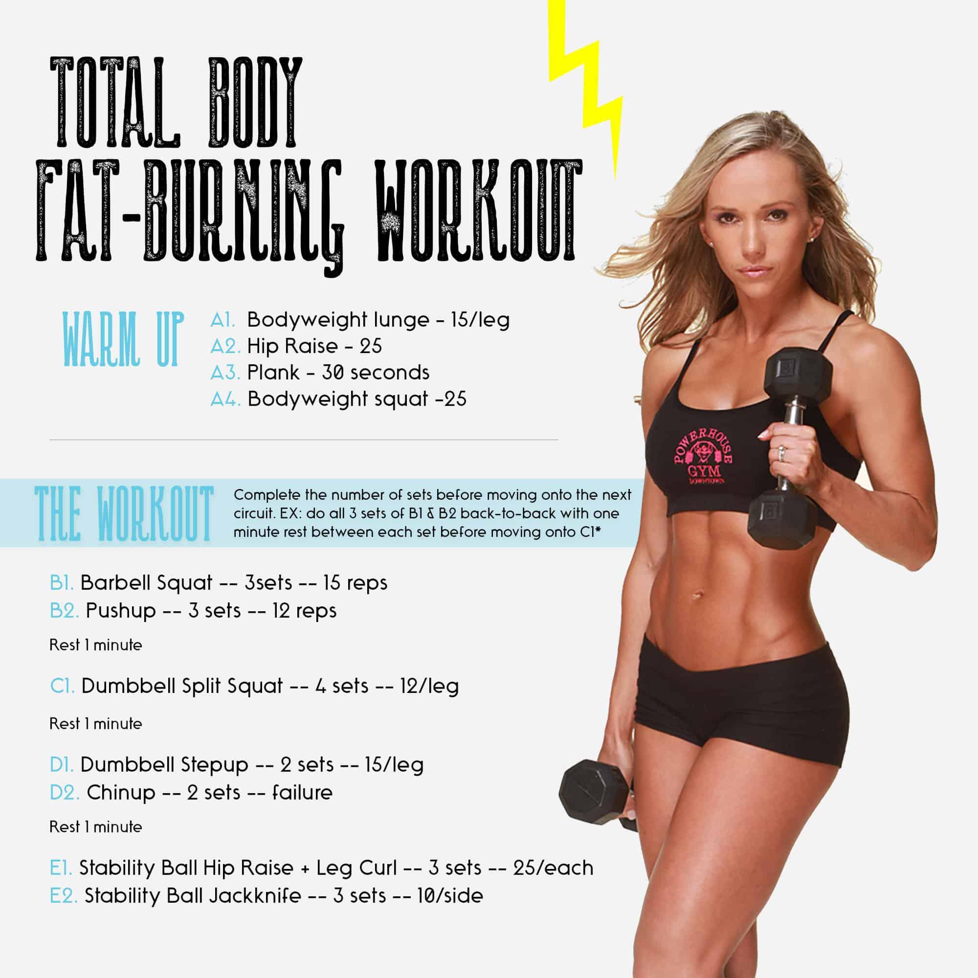 Total Body Fat-Burning Workout