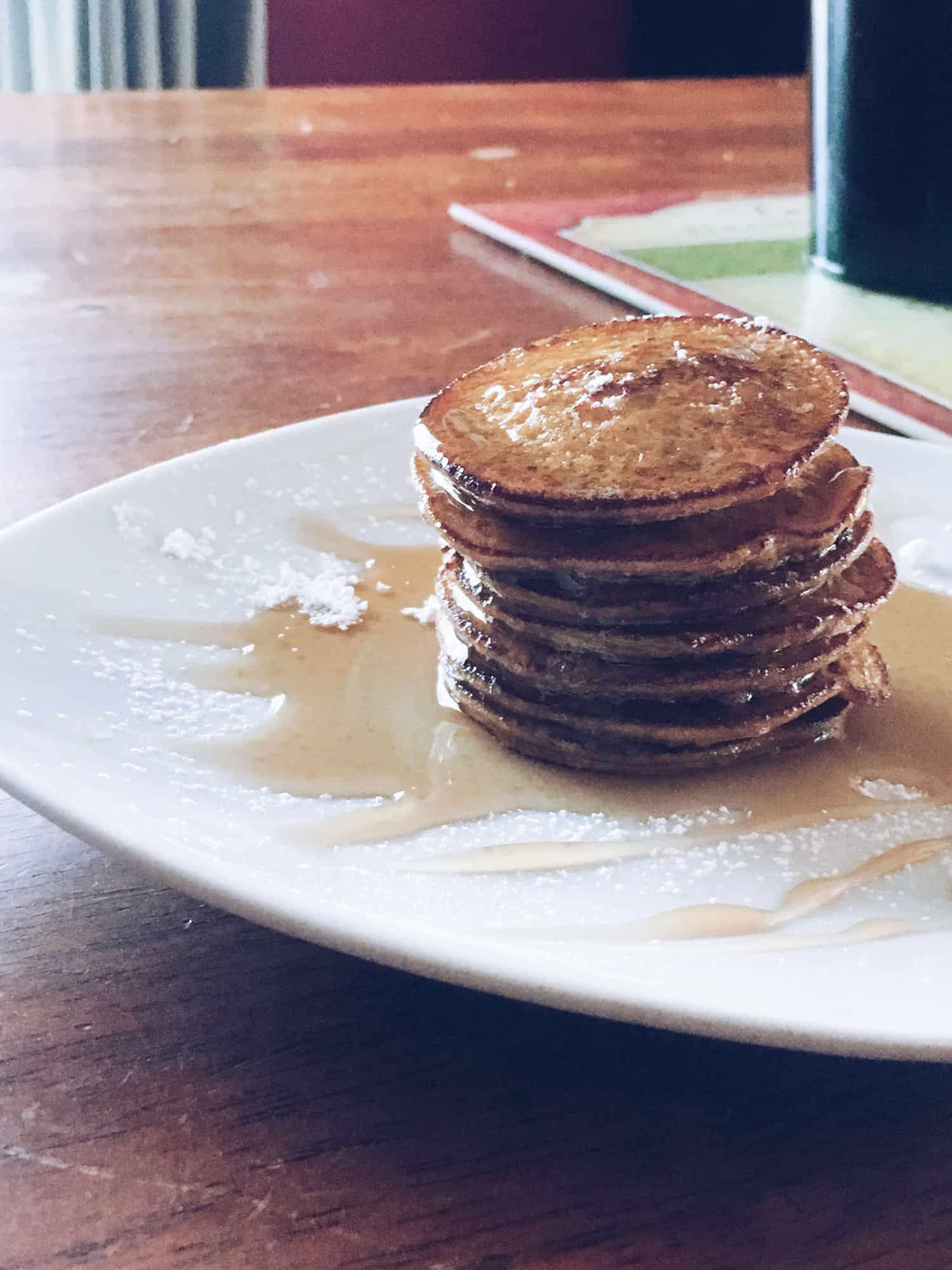 Mini Sweet Potato Pancakes