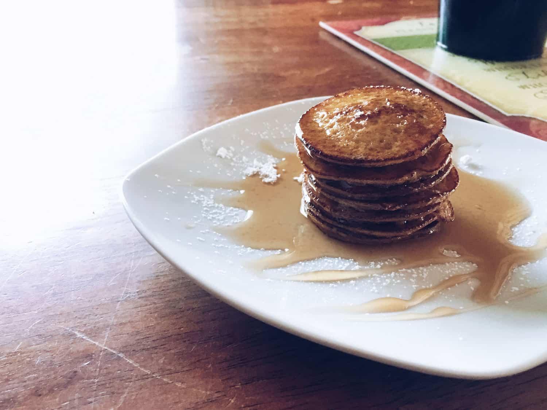 2 Ingredient Sweet Potato Pancakes